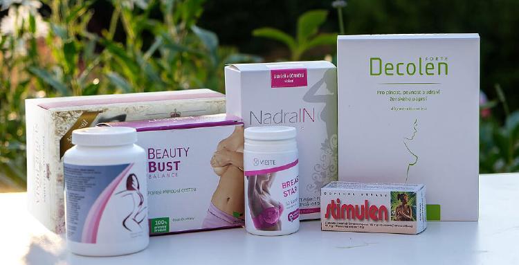 Testovali jsme šest přírodních přípravků na růst prsou