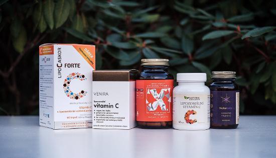 Najlepší lipozomálny vitamín C varYear