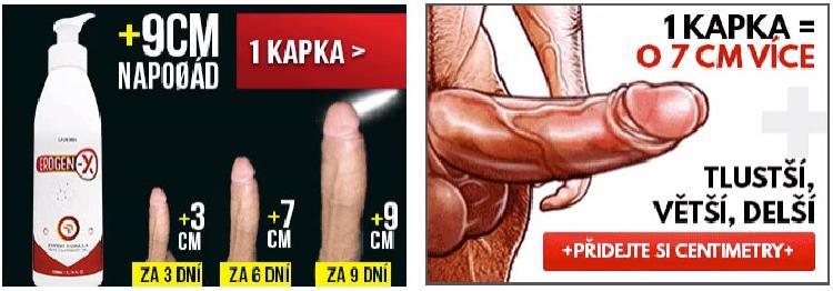 Lživé reklamy na zväčšenie dĺžky penisu